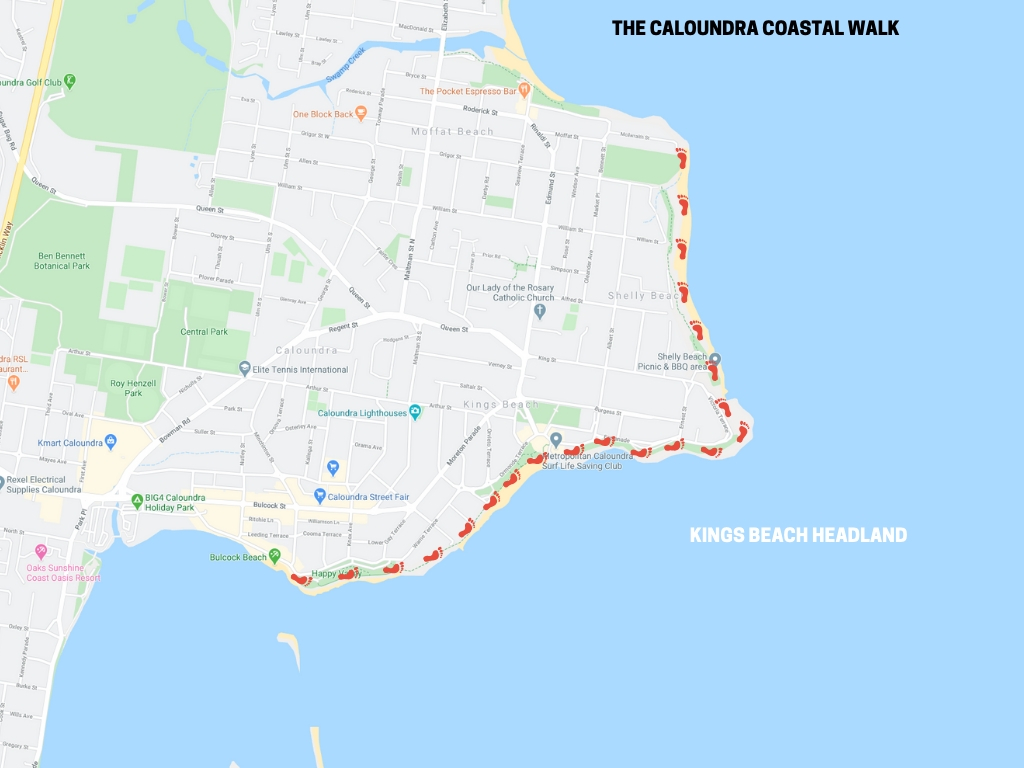 The Caloundra Coastal Walk